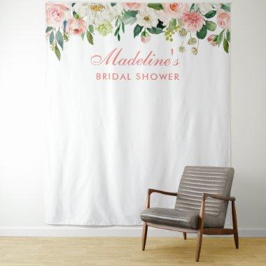 Bridal Shower Backdrop Pink | Photo Booth Prop