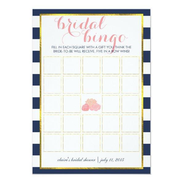 Bingo Game  | Midnight Peony