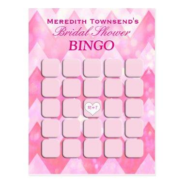 Bingo | Pink Chevron Post