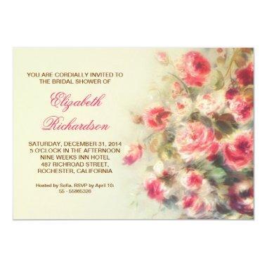 blush pink roses watercolor