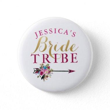 Bride Badges Bachelorette Tribe Pins
