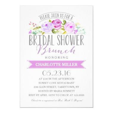 Bridal Shower Brunch | Bridal Shower Invitations