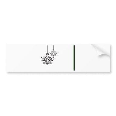 Bridal shower bumper sticker