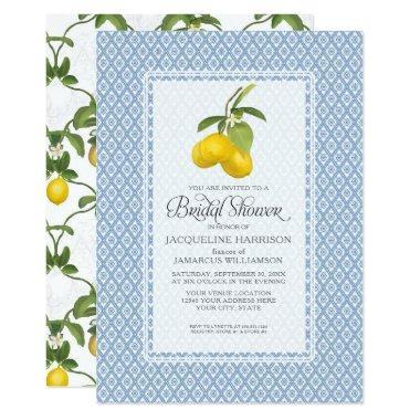 Citrus Garden Lemon Trellis Pattern