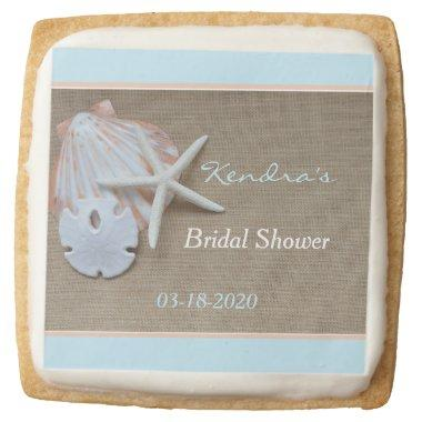 Bridal Shower Cookie Favors Beach Theme