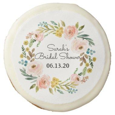 Bridal Shower Cookies Custom Flower