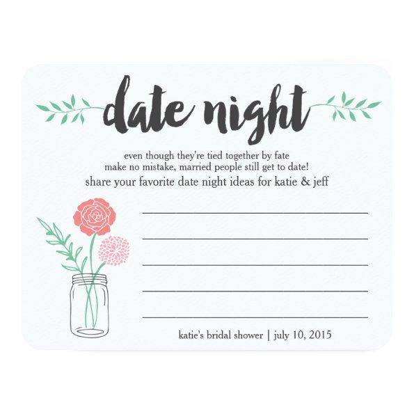 215 bridal shower date night idea invitations mason jar