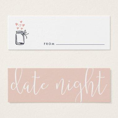 Bridal Shower Date Night Jar Invitations