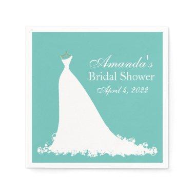 Elegant Bride Personalized Napkin