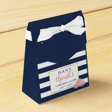 Favor Boxes | Midnight Blush Peony