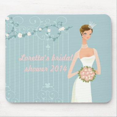 Bridal shower favor idea mouse pad