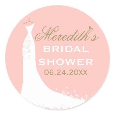 Favor Sticker | Wedding Gown