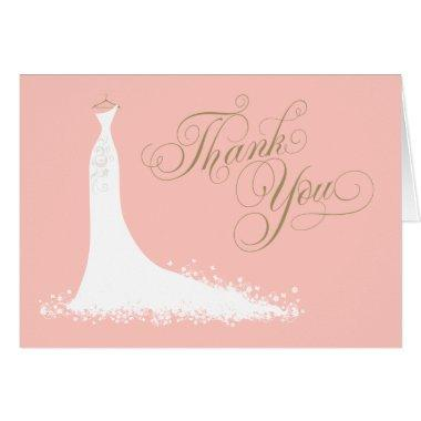 Folded Thank You  | Wedding Gown