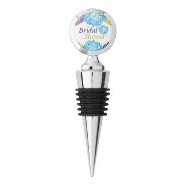 Gift, Bright Floral Wine Stopper