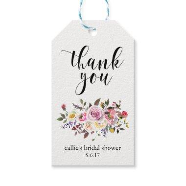 Gift Tags for Party Favors Floral