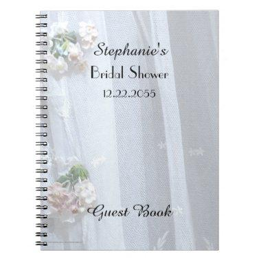 Guest Book, Vintage Lace Notebook