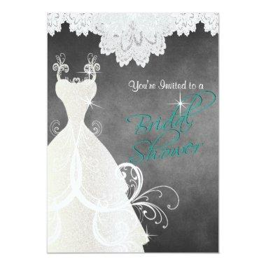 in Chalkboard and Lace