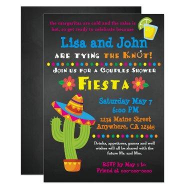 Invitation- Couples, Fiesta