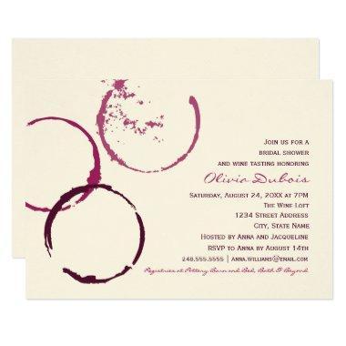   Wine Stain Rings