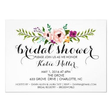 Invite - Flower Crown II