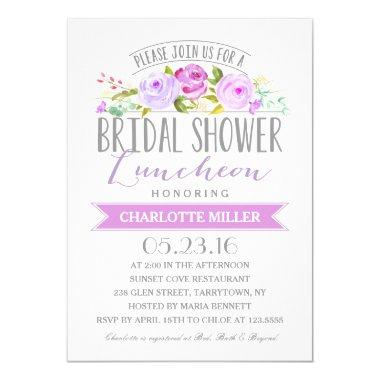 Bridal Shower Luncheon | Bridal Shower Invitations