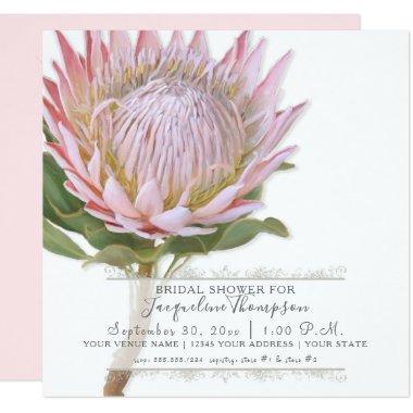 Modern Elegant King Protea Flower