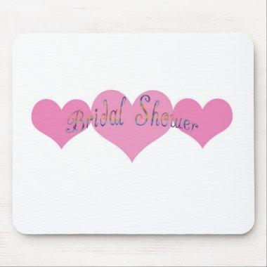 Bridal Shower Mouse Pad