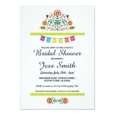 Party Fiesta Mexican Invite