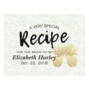 Recipe Vintage Gold Pineapple Couple Post