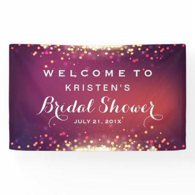 Shimmer Gold Glitter Sparkles Banner