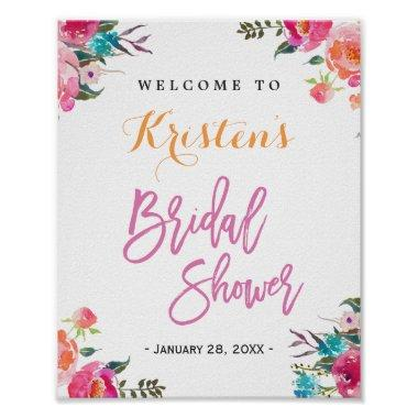 Sign | Modern Watercolor Floral