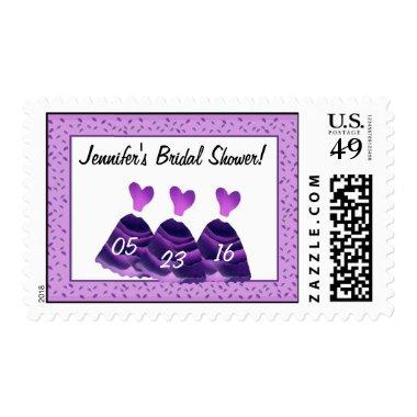 Stamp - PURPLE Heart Dresses