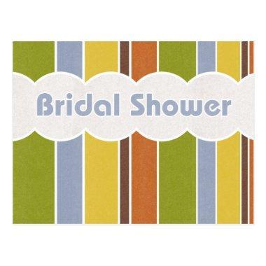 Bridal Shower - Stripes PostInvitations