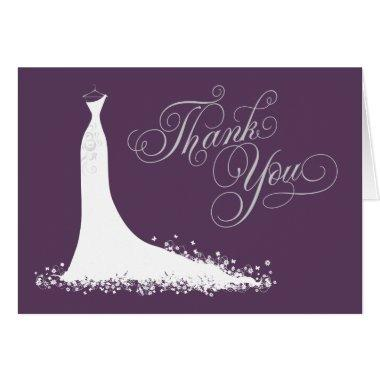 Thank You  Folded | Wedding Gown