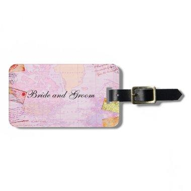 travel theme luggage tag