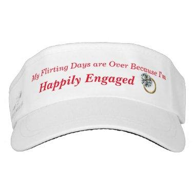 Bridal Sports Visor - or customize