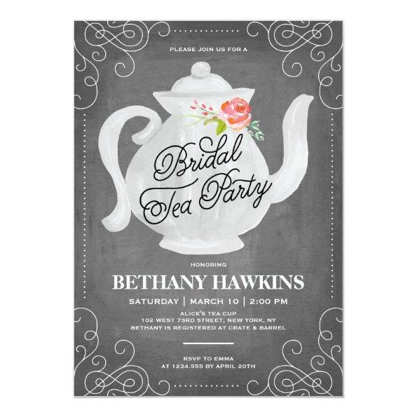 Bridal Tea Party | Bridal Shower Invitations