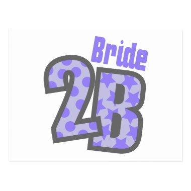 Bride 2B (Purple) Post