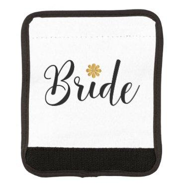 Bride  Wedding Elegant Luggage Handle Wrap