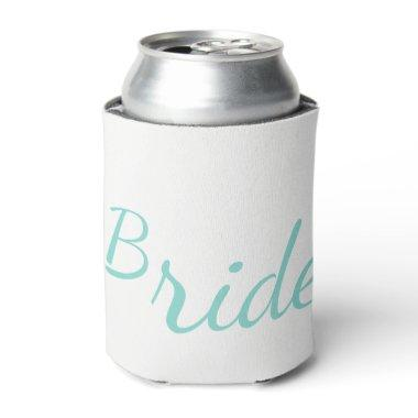 BRIDE Bridal Wedding Party Here Come The Bride Can Cooler