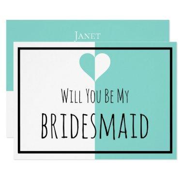BRIDE & CO Be My Bridesmaid You & Me Suite