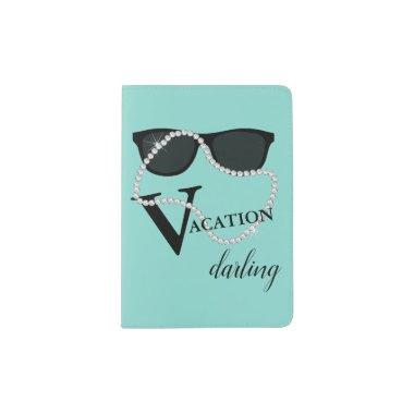 BRIDE CO Diamond Tiara Party Favor Vacation Travel Passport Holder