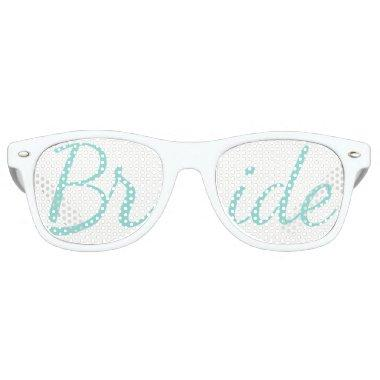 BRIDE CO Reception Shower Bridal Party Bride Retro Sunglasses