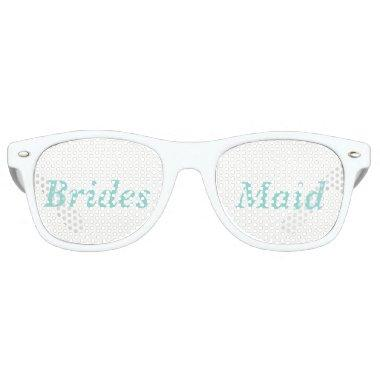 BRIDE CO Reception Wedding Party Favor Bridesmaid Retro Sunglasses