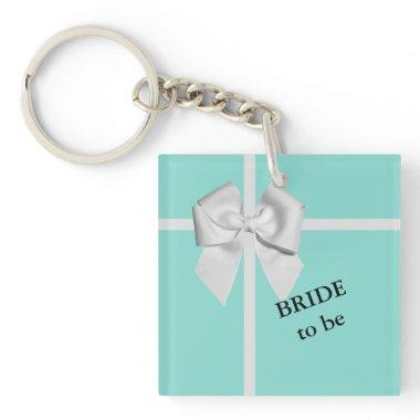 BRIDE & CO Shower Bridal Birthday Party Favor Keychain