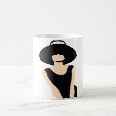 BRIDE & CO Shower Lady And Hat Party Favor Mug