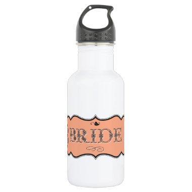 Bride Design 01 273c ( Stainless Steel Water Bottle