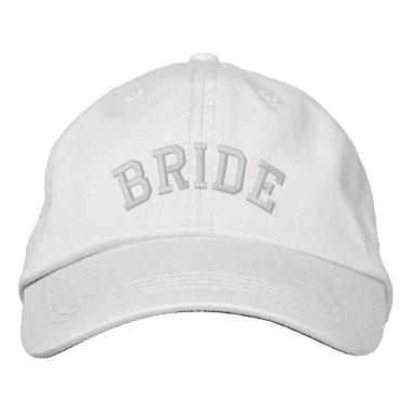 BRIDE EMBROIDERED BASEBALL HAT