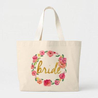 Bride Gifts Large Tote Bag