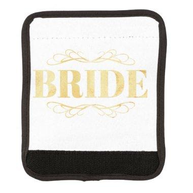 Bride Golden Scroll Handle Wrap